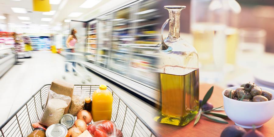 Etiquetas adhesivas para productos de alimentación