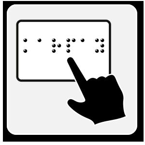 Etiquetas Braille